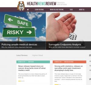 HealthNewsReview.org