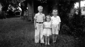 Lee, Eddie, and Doris 1938