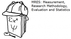 MRES- Measurement, Research Methodology, Evaluation and Statistics
