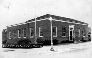 Post Office Augusta Kansas 1940